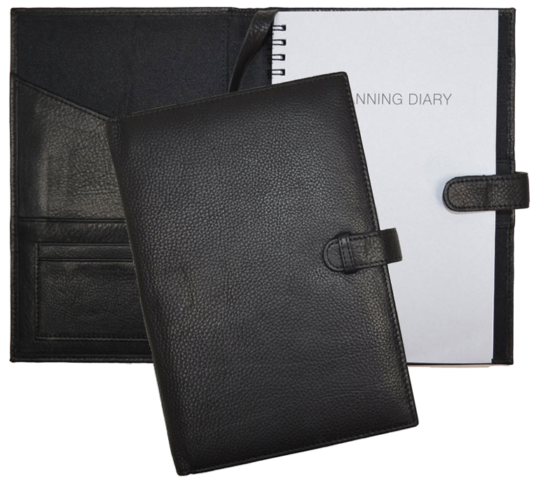 leather planners  weekly pocket planner covers and refills