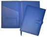 blue forever leather planners inside