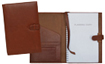 british tan forever leather planners inside