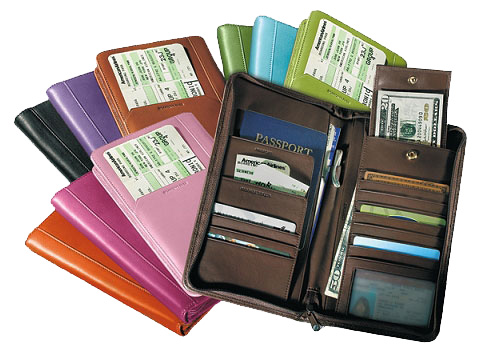 Leather Planner Organizers